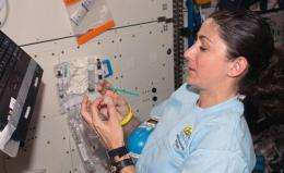 Iowa State chemists help astronauts make sure their drinking water is clean