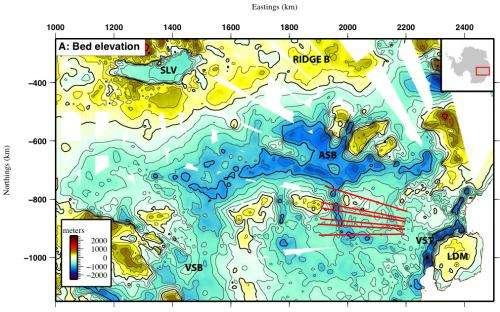 New map reveals giant fjords beneath East Antarctic ice sheet