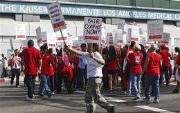 Nurses at dozens of Calif. hospitals strike (AP)