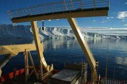 Ocean currents speed melting of Antarctic ice
