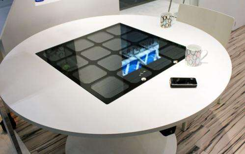 Panasonic releases wireless solar charging table