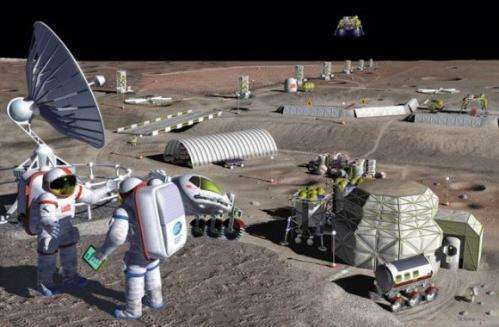 Paul Spudis' plan for a sustainable and affordable lunar base
