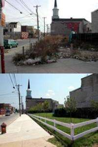 Rehabilitating vacant lots improves urban health and safety, study finds