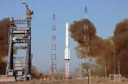 Russia on Monday successfully launched a satellite for its Glonass global navigation system