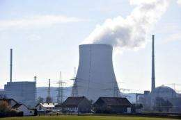 The nuclear power plant Isar 1 in Markt Essenbach, southern Germany