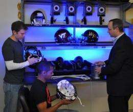 Virginia Tech announces football helmet ratings for reducing concussion risk