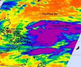 NASA satellite sees massive Tropical Storm Meari headed for Taiwan
