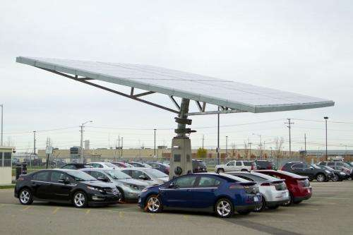 Solar Power Blooms in Warren