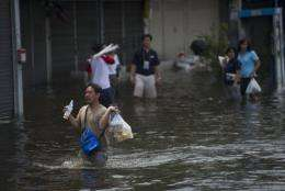 Climate change poses a serious threat to global health and stability, as floods and droughts destroy people's homes