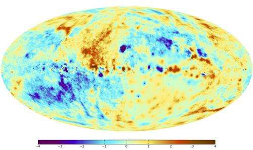 New all-sky map shows the magnetic fields of the Milky Way with the highest precision