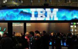 US computer giant IBM said Wednesday it is buying i2, a British firm that makes software for crime and fraud prevention