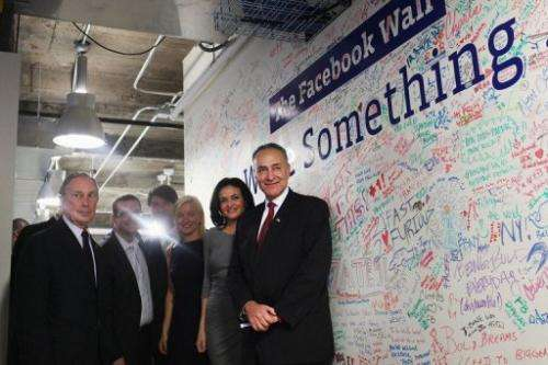 Facebook announced on Friday that it will open an engineering office next year in New York