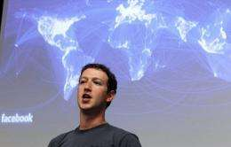 Facebook CEO Mark Zuckerberg speaks during a news conference at Facebook headquarters in July