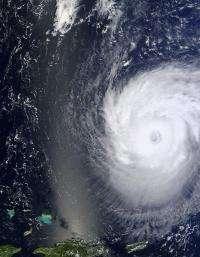 NASA satellites 'eyes' changes in Hurricane Katia