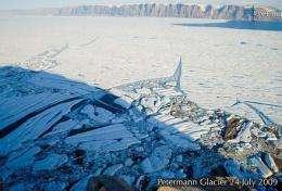 Pics of Greenland glacier melt shocksexpert