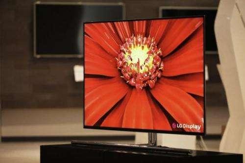 "55"": LG announces world's largest OLED TV panel"