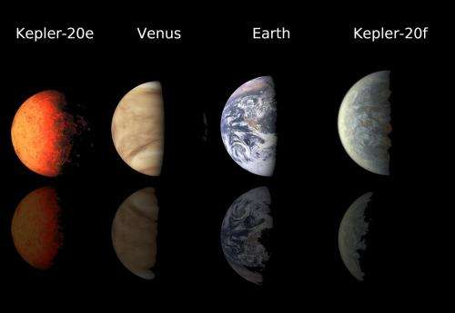 Kepler finds first earth-size planets beyond our solar system