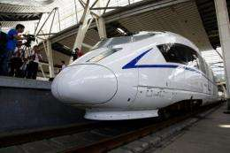 "A former China railway engineer says the high-speed rail-link's top speed is ""unsafe"""