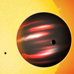 Alien world is blacker than coal