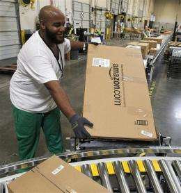 Amazon 2Q profit falls but results beat Street (AP)