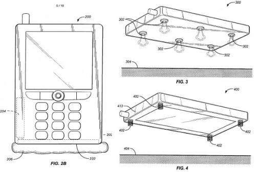 Amazon's Bezos envisions airbag phone, files patent