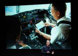 American Airlines received authorization to use the iPad in the cockpit during all phases of flight