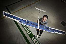 An unmanned aerial vehicle that uses wind power like a bird -- pure genius