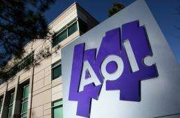 AOL shares lost 5.28 percent in New York to close at $14.72