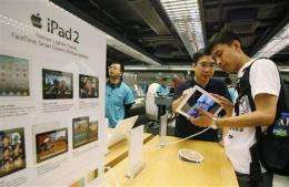 Apple juggernaut sends ripples through tech world (AP)