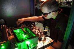A quiet phase: NIST optical tools produce ultra-low-noise microwave signals