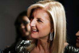Arianna Huffington, co-founder of The Huffington Post