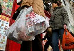 Around three billion plastic bags were being used daily in China before the 2008 ban