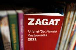 A Zagat book