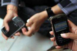 Blackberry users were not able to receive or send email, or use instant messaging