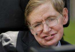 British scientist Stephen Hawking has suffered from motor neurone disease since the age of 21