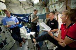 Can I come? Final shuttle crew besieged for favors (AP)