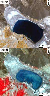 China's shrinking lakes