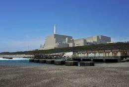 Chubu Electric Power's Hamaoka nuclear power plant