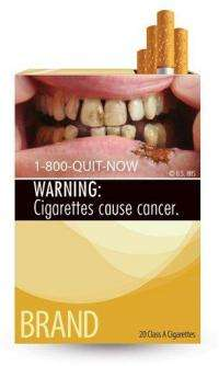 Cigarettes will carry grisly new warning labels (AP)