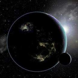 City lights could reveal E.T. civilization