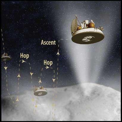 Comet Hopper, a UMD/NASA Goddard Proposal, Moves to 'Final Round' in NASA Selection Process