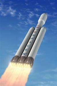 Company planning biggest rocket since man on moon (AP)