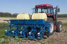 Cover crop seeder pulls triple duty for small farms