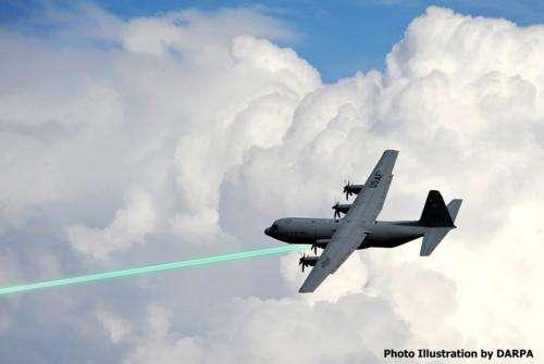DARPA's compact high-power laser program completes key milestone