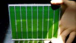 Dye-sensitized solar cells break a new record