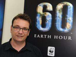 Earth Hour co-founder and executive director Andy Ridley