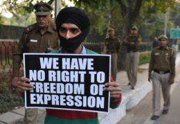 Efforts to block offensive material from the Internet in India has provoked anger and derision