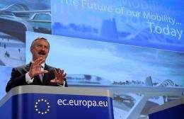EU commissioner for Transport Sim Kallas