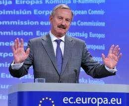 Europe's transport commissioner Siim Kallas