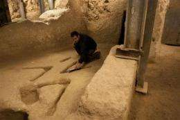 Experts stumped by ancient Jerusalem markings (AP)